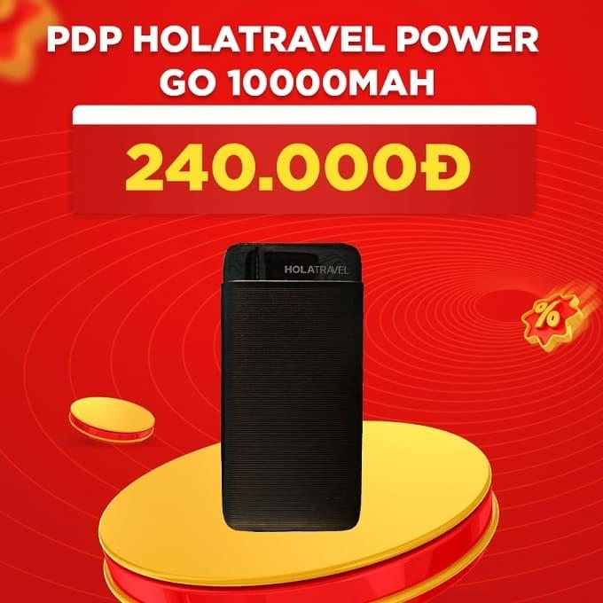 Pin sạc dự phòng HoLaTravel Power Go 10000mAh giảm thêm 47%