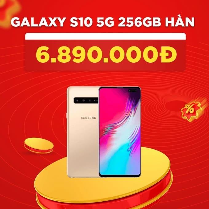 Galaxy S10 5G 256GB Hàn cũ giảm thêm 1.100.000đ