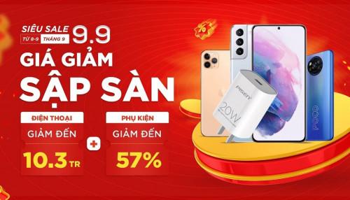 Siêu sale 09.09: iPhone 11 Pro Max, Galaxy S21 Plus 5G giảm đến 10.3 triệu đồng