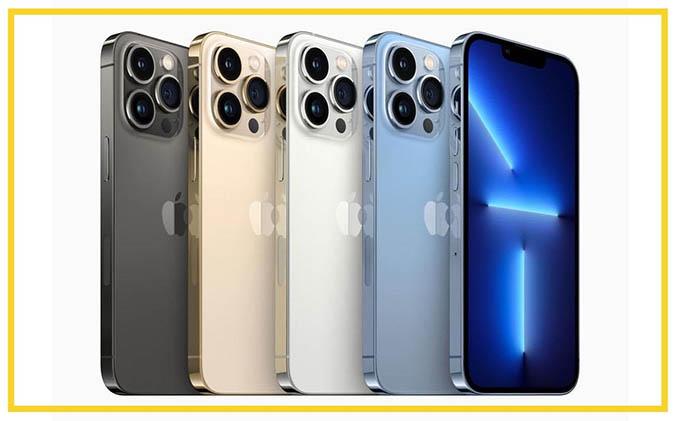 iPhone 13 Pro và iPhone 13 Pro Max có mấy màu?