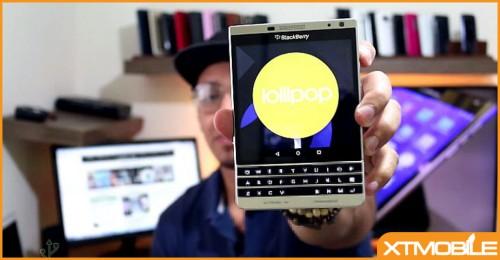 Blackberry Passport chạy hệ điều hành Android, tại sao không?