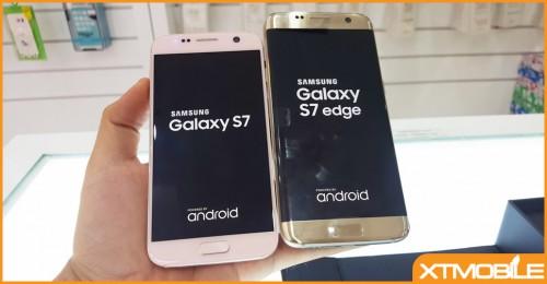 """Samsung Galaxy S7 và Samsung Galaxy S7 Edge: Khi siêu phẩm """"cong"""" và """"thẳng"""" đối đầu"""