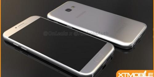Samsung Galaxy A5 (2017) lộ diện trong video, có thiết kế khá giống Galaxy S7