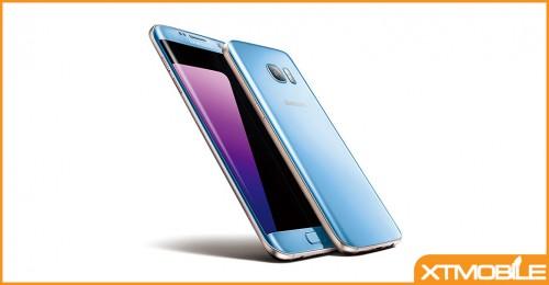 Chiêm ngưỡng vẻ đẹp của Samsung Galaxy S7 Edge Blue Coral