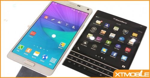 BlackBerry PassPort và Samsung Galaxy Note 4: Khi sự phá cách đối đầu với vẻ đẹp sáng tạo