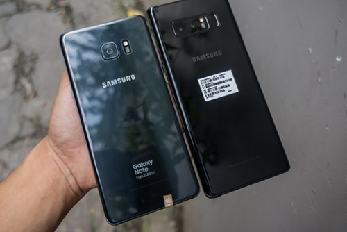 Nên mua Galaxy Note 8 hay Galaxy Note FE (Fan Edition)