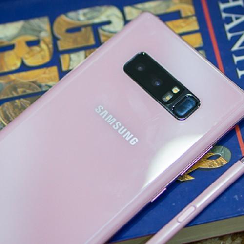 Khám phá Galaxy Note 8 phiên bản màu Hồng anh đào dành tặng người yêu