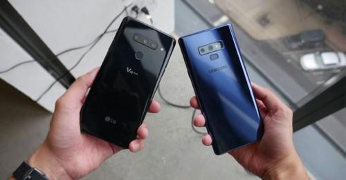 So sánh Galaxy Note 9 và LG V40 ThinQ: Nên mua Flagship nào?