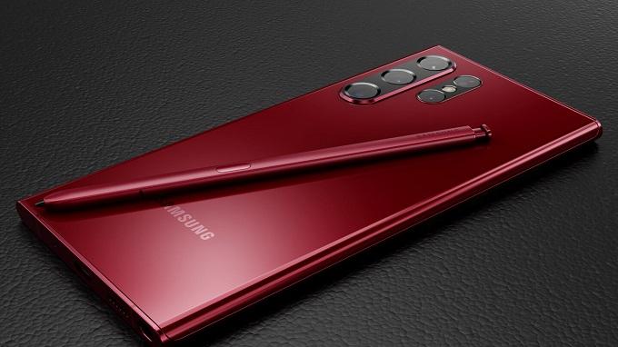 Galaxy S22 Ultra có thể ra mắt tùy chọn màu đỏ Burgundy