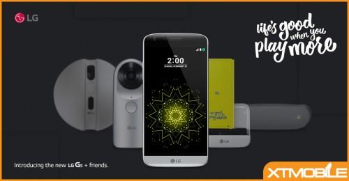 LG chính thức tung ra bản cập nhật Android 7.0 Nougat cho LG G5