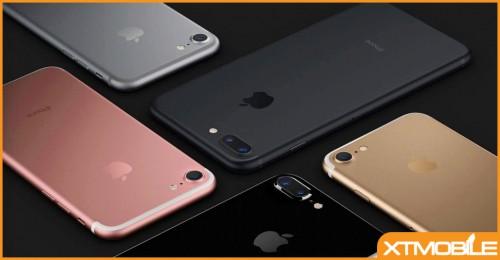 Nhu cầu iPhone 7 vượt đỉnh, lượng tiêu thụ sẽ giảm mạnh trong những tháng tới