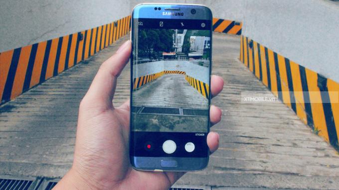 Hình ảnh được chụp chân thật từ camera Galaxy S7 Edge Mỹ cũ
