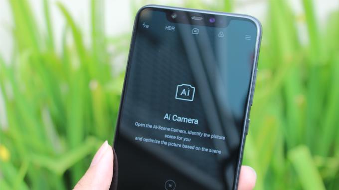 Camera được hỗ trợ AI hiện đại