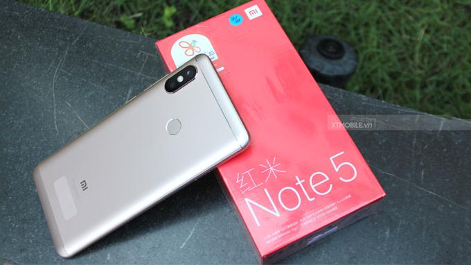 Xiaomi Redmi Note 5 Pro (3GB/32GB) mang ngôn ngữ thiết kế sang trọng