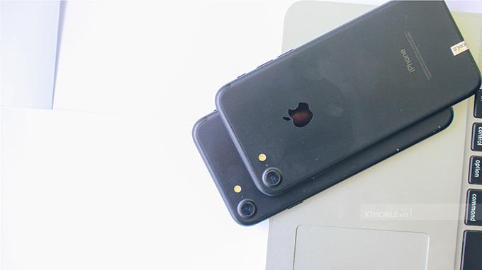 Màn hình iPhone 7 Plus lớn hơn và chi tiết hơn iPhone 7