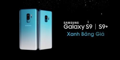Samsung Galaxy S9 và Galaxy S9 Plus có thêm màu Xanh Ice Blue cực độc