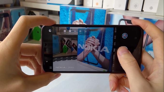 Ứng dụng camera trên Nokia X7 có nhiều cải tiến