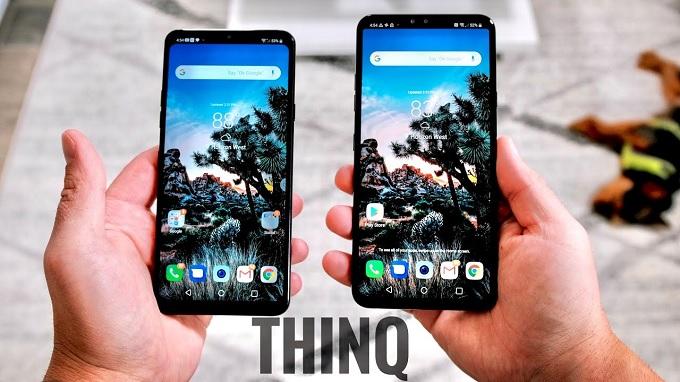 Cùng so sánh LG G7 ThinQ và LG V40 ThinQ