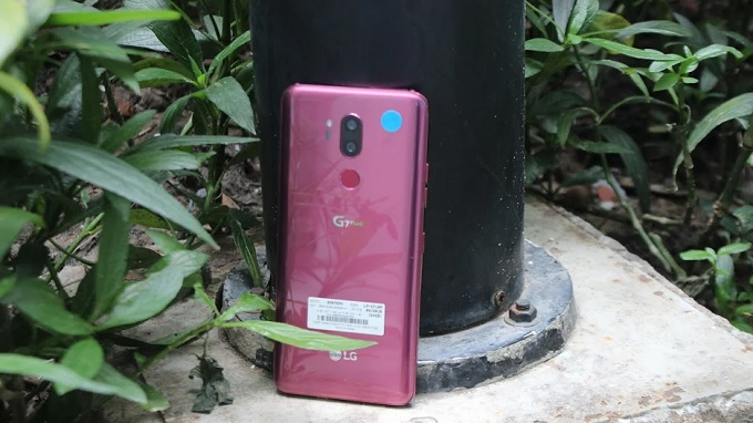 Camera sau LG G7 có nhiều tính năng