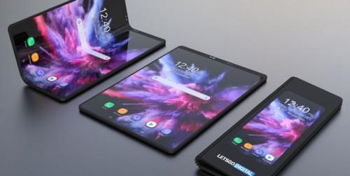 Hình ảnh render 3D của Samsung Infinity Flex bắt đầu lộ diện