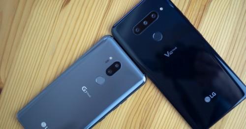 LG G7 ThinQ và LG V40 ThinQ: Tưởng giống nhau mà khác nhau không tưởng