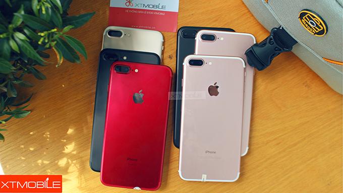 iPhone 7 Plus 128 GB cũ có nhiều phiên bản màu sắc