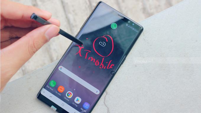 Bút S - Pen là điểm nhấn trên Galaxy Note 8 xách tay Mỹ