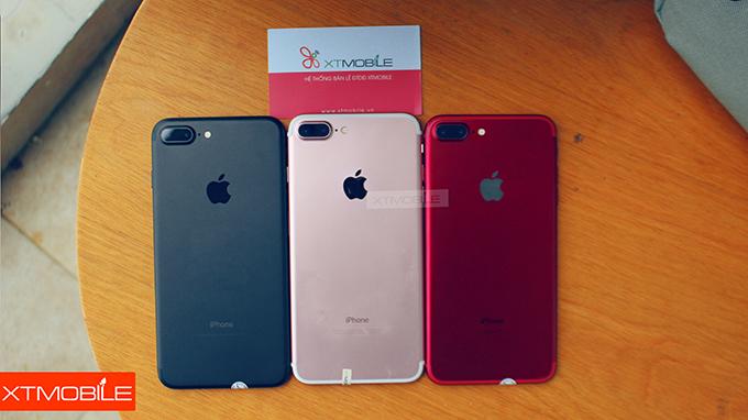 iPhone 7 Plus 128GB cũ màu đỏ lưu trữ tốt