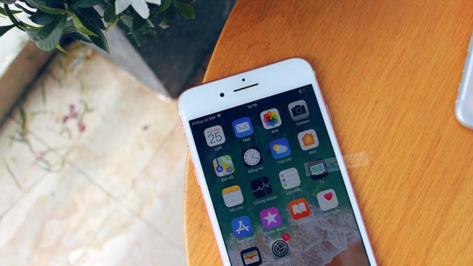 Camera trước iPhone 7 Plus 128GB cũ (Red) chụp ảnh rất chân thực