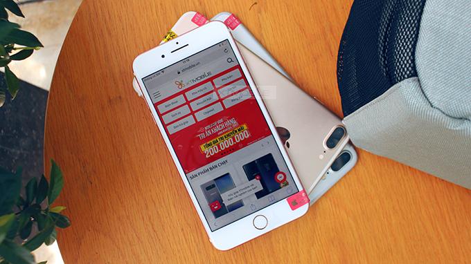 iPhone 7 Plus Red 128GB cũ có thể chạy các ứng dụng trên Appstore