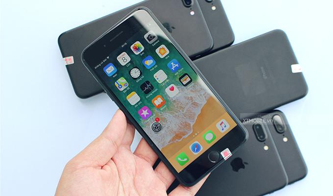 Màn hình iPhone 7 Plus CPO hiện thị tốt dưới trời nắng