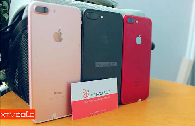 Mua iPhone 7 Plus 128GB cũ màu đỏ Red giúp bệnh nhân HIV/AIDS