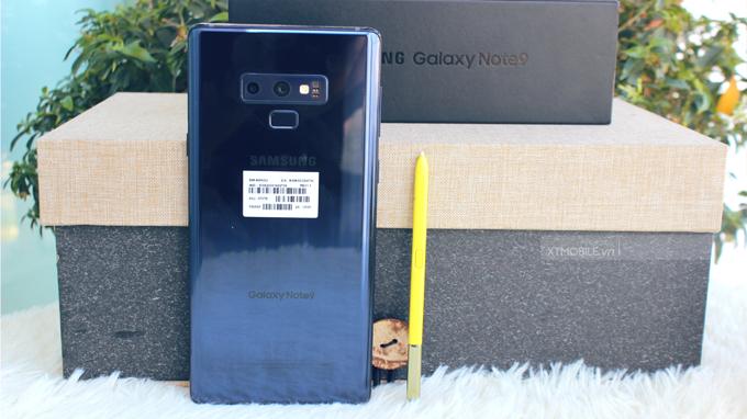 Thiết kế Galaxy Note 9 xách tay Mỹ khiến người dùng không thể rời mắt