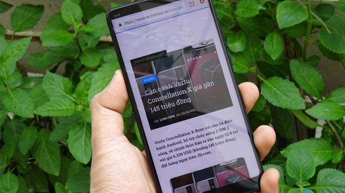 Xiaomi Mi Mix 2s (6GB/ 64GB) được trang bị viên pin dung lượng cao Li-Ion 3.400mAh