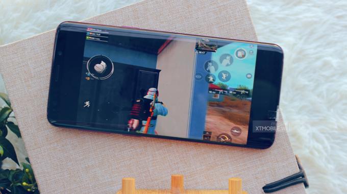 Galaxy S9 Burgundy Red New Nobox có thể chơi bất kỳ tựa game nặng nào hiện nay
