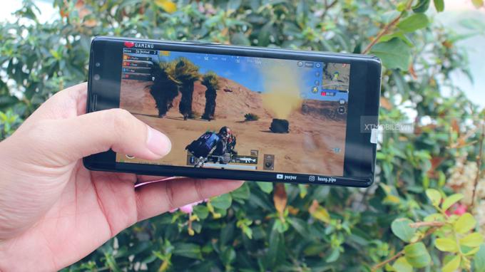 Hiệu suất Galaxy Note 8 64GB cực trâu, mang lại trải nghiệm mượt mà và ổn định khi chơi game