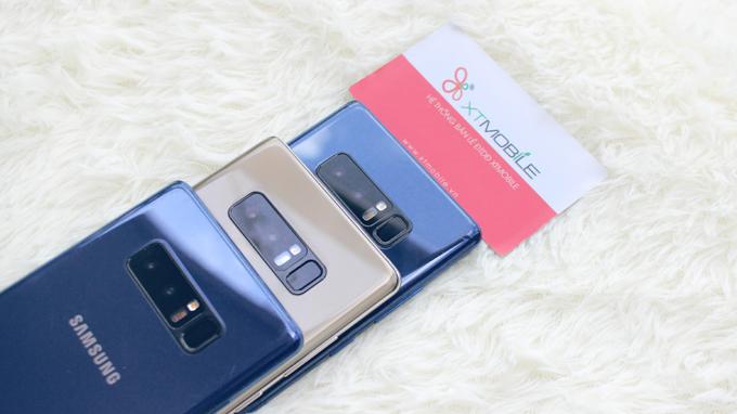 Galaxy Note 8 Hàn Quốc sở hữu cụm camera kép có khả năng xóa phông độc đáo