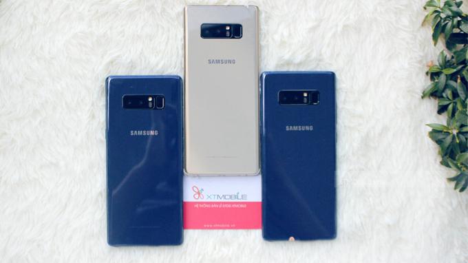 Galaxy Note 8 64GB Hàn Quốc là điện thoại được săn lùng nhất hiện nay