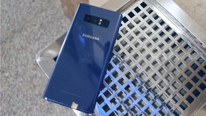Samsung Note 8 256GB New Nobox là máy mới 100%, sở hữu thiết kế sang trọng và nam tính