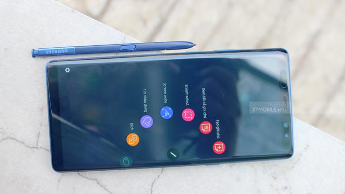 Bút-S-Pen là trợ thủ đắc lực trên Galaxy Note 8 256GB New Nobox Hàn Quốc