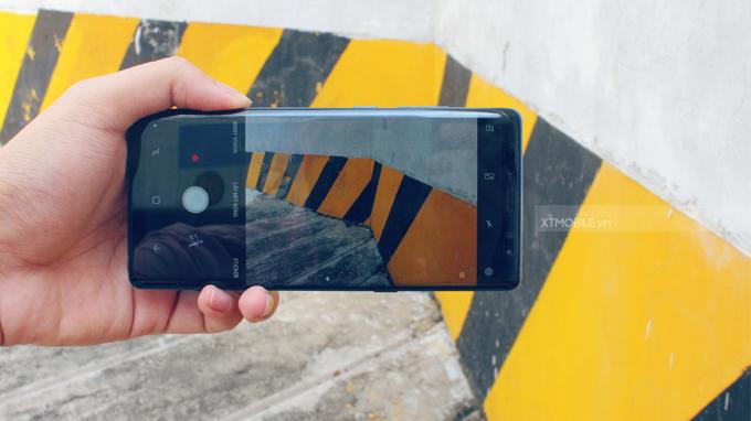 Camera chụp ảnh trên Galaxy Note 8 256GB xách tay Hàn Quốc khá chân thật và sắc nét