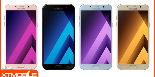 Samsung Galaxy A5 (2017) chính thức lộ diện thiết kế, cấu hình và giá bán