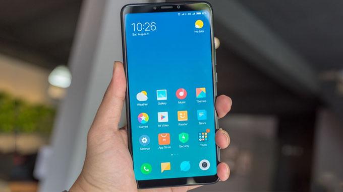 Xiaomi Mi Max 3 được trang bị màn hình có kích thước 6.9 inch