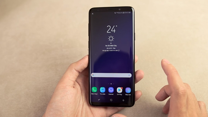 Galaxy S9 64Gb cũ Hàn Quốc giá rẻ vẫn được nhiều người yêu thích