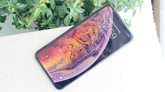 Kinh thước màn hình iPhone Xs Max 64GB 2 SIM lên đến 6.5 inch