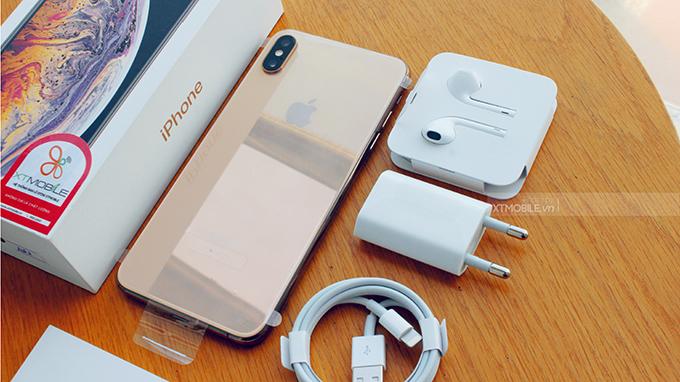 Nhờ công nghệ sạc pin mới, bạn có thể sử dụng iPhone Xs Max 64GB mọi lúc mọi nơi