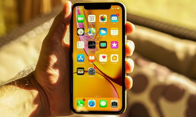 Chipset trên iPhone Xr 64GB đã được nâng cấp lên A12
