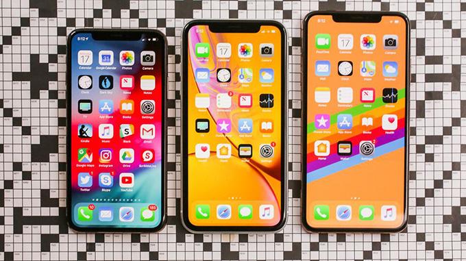 iPhone Xr được thiết kế khác xa với iPhone Xs và Xs Max