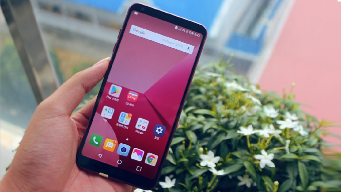 LG G6 có màn hình kiểu mới