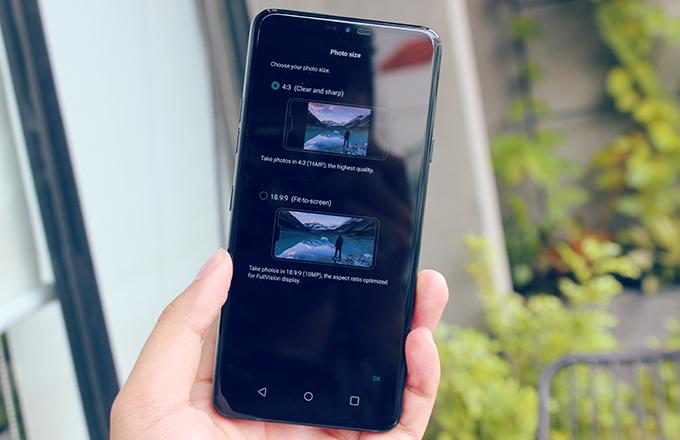 Là một điện thoại cao cấp, LG G7 ThinQ thể hiện sức mạnh của mình qua bộ chip mạnh nhất Android 2018